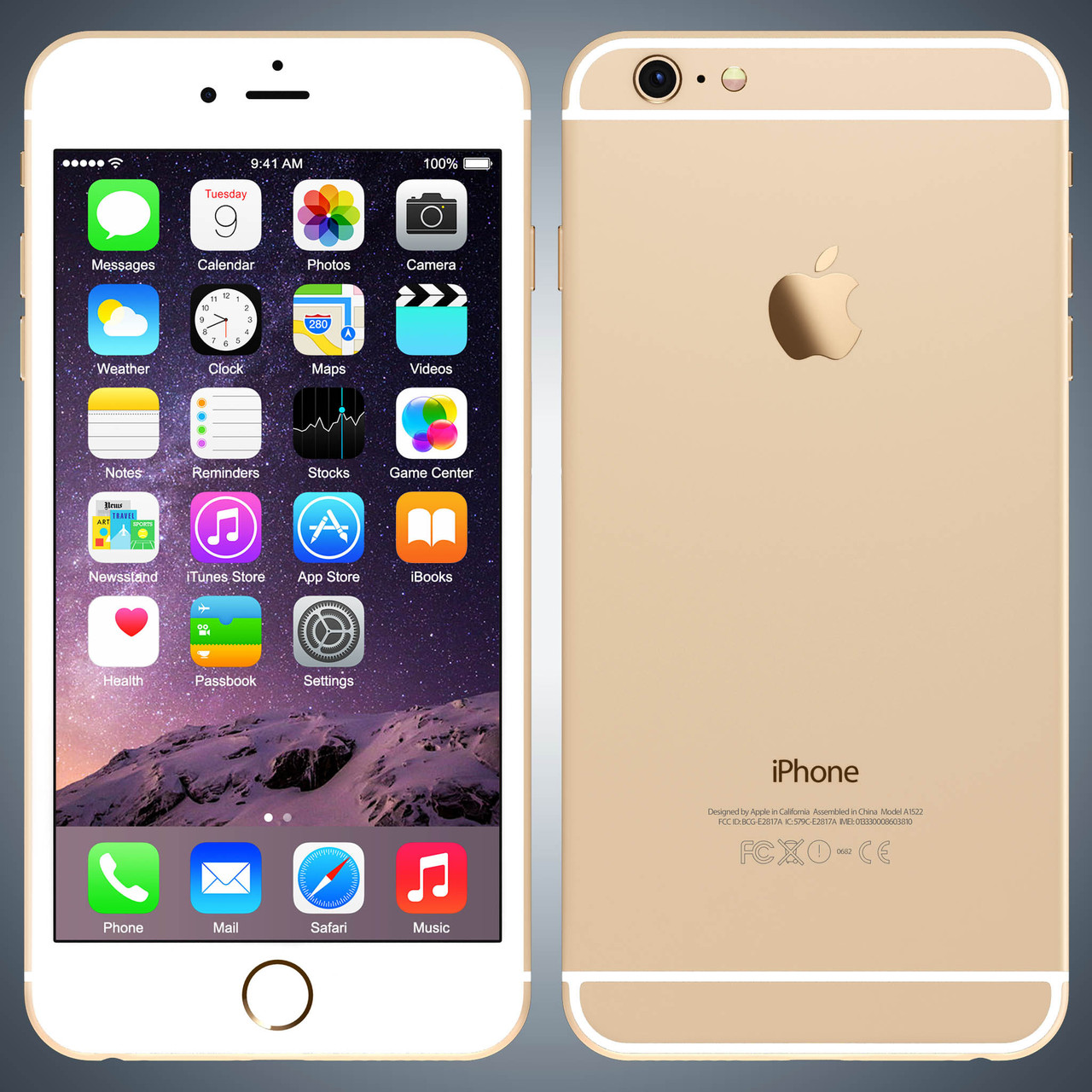 Original Apple iPhone 6 16Gb Gold Neverlock refurbished