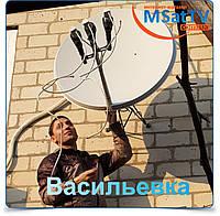 Установка спутникового тв в Васильевке
