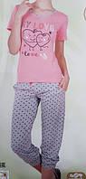 """Женская пижама """"Nicoletta"""" №82342 (капри)"""