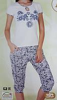 """Женская пижама """"Nicoletta"""" №82338 (капри)"""