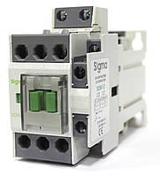 Контактор магнитный пускатель постоянный ток на 12 ампер 5,5 кВт, кат управл 24 / 48 вольт DC