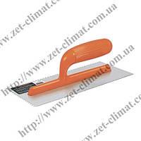 Кельма штукатурна Truper Plastic с V-зубом 280х130мм