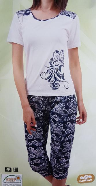 """Женская пижама """"Nicoletta"""" №82332 (капри)"""