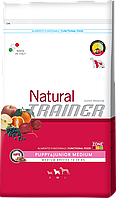 Trainer Natural Puppy & Junior Medium корм для щенков средних пород, 3 кг, фото 1