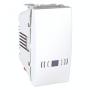 """SСHNEIDER ELECTRIC UNICA Выключатель кнопочный одноклавишный с символом """"Звонок"""" 1 модуль 10А Белый"""
