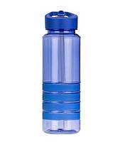 Бутылка пластиковая для воды SMILE SBP-1 синяя