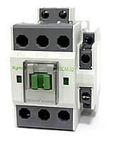 Контактор магнитный пускатель на 32 ампера 15 кВт на DIN дин рейку 24 48 110 220 вольт цена купить