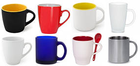 Чашки под нанесение логотипа