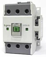 Контактор магнитный пускатель на 65 ампер 30 кВт на DIN дин рейку 24 48 220 вольт цена цена купить, фото 1