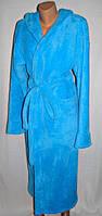 Женский теплый длинный халат на запах, оптом и в разницу