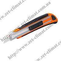 Нож выдвижной Truper універсал металл 3 лезвия (130мм)
