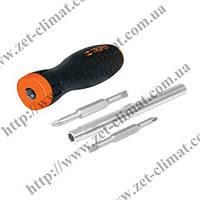 Отвертка-ручка Truper комфорт 6 позиций