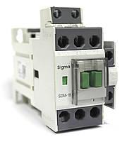 Контактор магнитный пускатель постоянный ток на 18 ампер 7,5 кВт, кат управл постоянного тока на 24/48 V DC