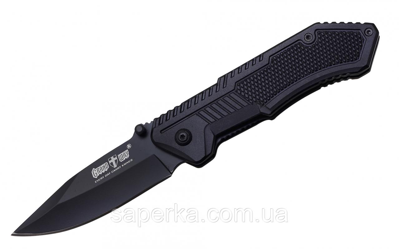 Нож многофункциональный с фальшлезвием Grand Way 10136