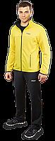 Мужской спортивный костюм F50 желтый (р. 46-54) арт. 10235E