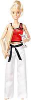 Кукла Барби из серии Безграничные движения Мастер Боевых Искусств (Barbie Made to Move The Ultimate Posable Ma