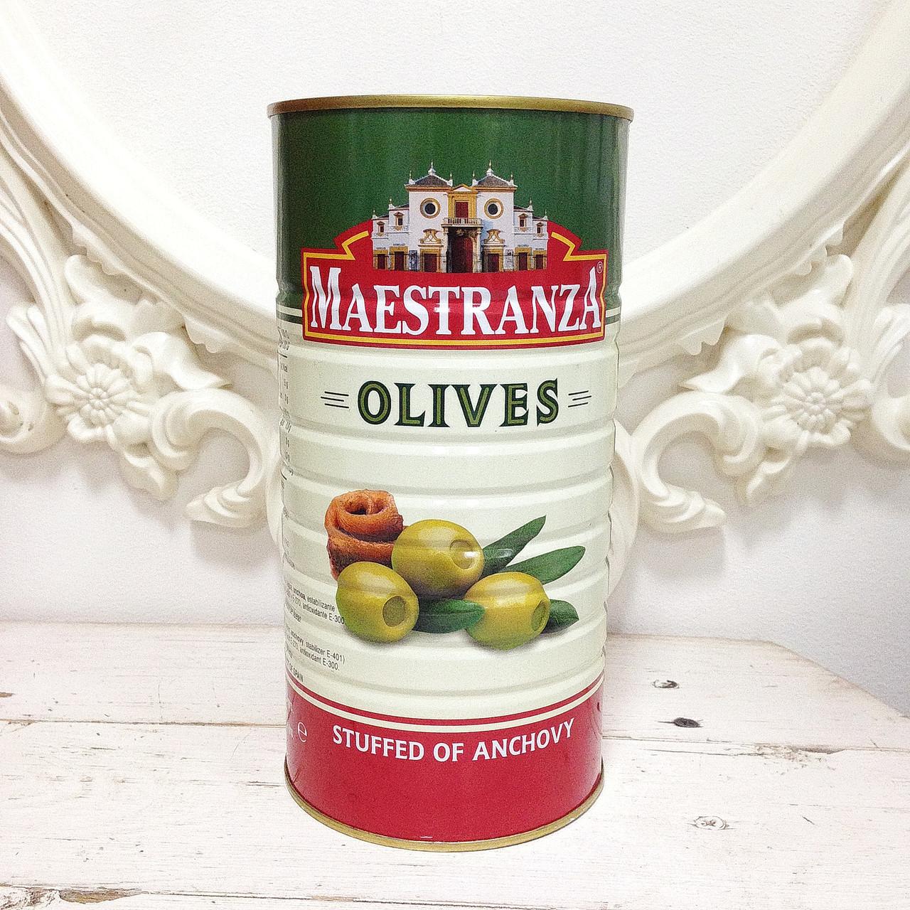 Оливки Maestranza 1,5л