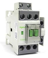 Контактор магнитный пускатель на 9 ампер 4 кВт на DIN дин рейку цена купить