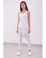 Молодежные брюки белые INDIA