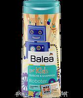 Детский шампунь - гель для душа Balea for Kids Roboter (Роботы), 300мл