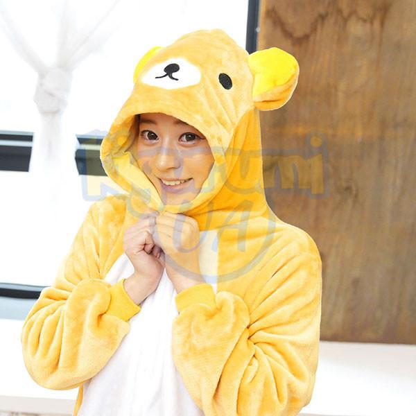 Пижама кигуруми Медведь Рилаккума d5d5d77d78cc9