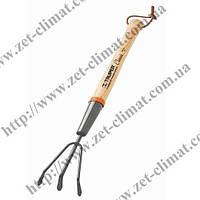 Культиватор садовый Mini Truper, ручка 150мм и 380мм, GTL-CV; GTS-CV (Длина 15 см)