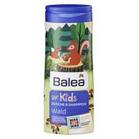 Детский шампунь - гель для душа Balea for Kids Wald (Лес), 300мл