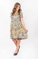 Легкое женское платье на лето