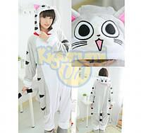 Пижама кигуруми Кот Серый