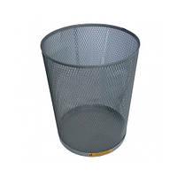 Корзина офисная для мусора (стальная) 15л
