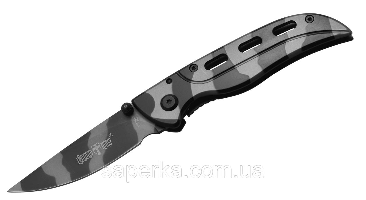 Нож универсальный с ассистом Grand Way 5001