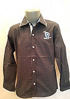 Рубашка на мальчиков 110,116,122,128 роста Синяя