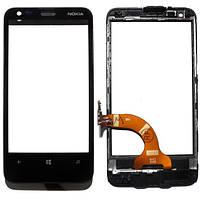 Сенсорный экран Nokia N620 (Lumia) V.3 (черный)
