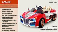 Автомобиль детский на аккумуляторах Red (C-024 КР) с р/у, М3866