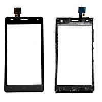 Сенсорный экран LG P880 (черный)