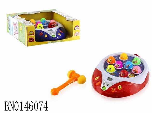 Развивающая электронная игрушка Аквариум с молоточком, ВВ312-1