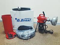 Обзор машины для прочистки канализации G.Drexl Mini-Power-75