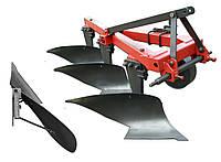 Плуг навесной для трактора ДПЛН 3-35 с винтовыми отвалами на высоких стойках