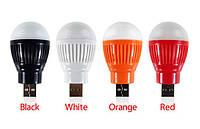 Лампа USB mini, лампочка подсветка, яркая usb лампа