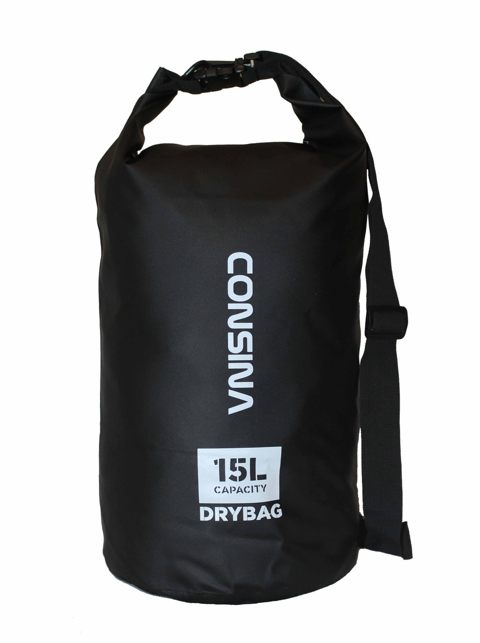 Сумка водонепроницаемая Consina Black 15L