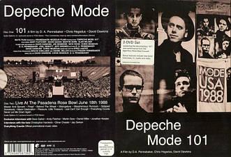 DVD-диск Depeche Mode - 101 (2DVD) (2003)