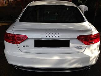 Спойлер на крышку багажника Audi A5 Coupe