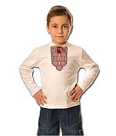 Детская вышиванка для мальчика, рост 110-116 см