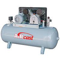 Компрессор поршневой с горизонтальным ресивером Aircast СБ4/С-100.LB50 (Беларусь)