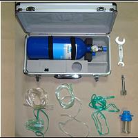 Кислородный баллон (кислородный ингалятор) объемом 4 л.