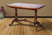 Стол обеденный деревянный раскладной Дуэт  сосна
