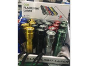 Фонарь+лазер C711-COB
