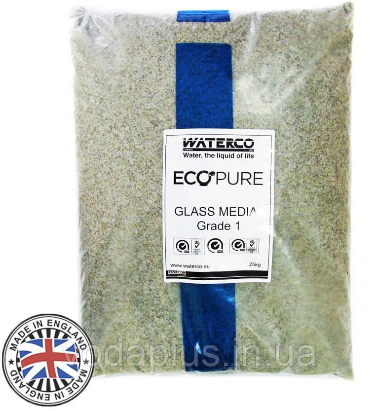 Стеклянный песок Waterco EcoPure 0,5-1,0 (20 кг)