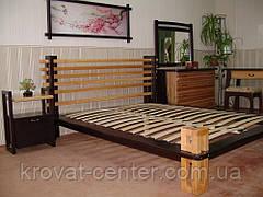 """Прикроватная тумбочка деревянная для спальни """"Жаклин"""" (двухцветная), фото 3"""
