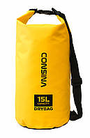 Сумка водонепроницаемая Consina Yellow 15L